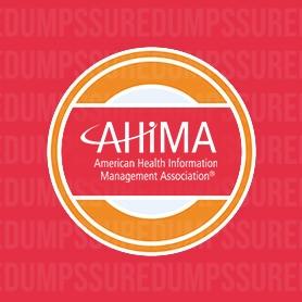 AHIMA RHIA Dumps