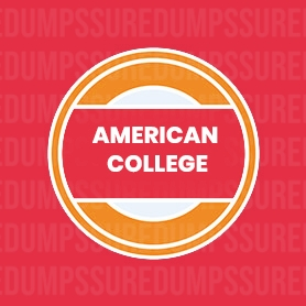 American College Certification Dumps